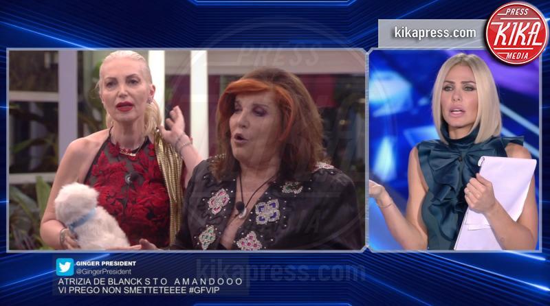 GF Vip, De Blanck contro la Marchesa: rissa in diretta tv