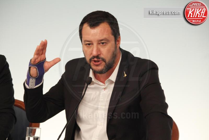 Matteo Salvini - Roma - 20-10-2018 - Barbara D'Urso provoca Matteo Salvini: