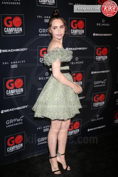 Lily Collins - Los Angeles - 21-10-2018 - Robert Pattinson e Lily Collins supportano la GO Campaign