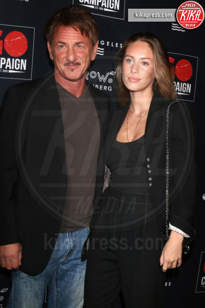 Dylan Penn, Sean Penn - Los Angeles - 21-10-2018 - Robert Pattinson e Lily Collins supportano la GO Campaign