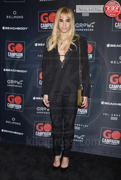 Sofia Boutella - Los Angeles - 20-10-2018 - Robert Pattinson e Lily Collins supportano la GO Campaign