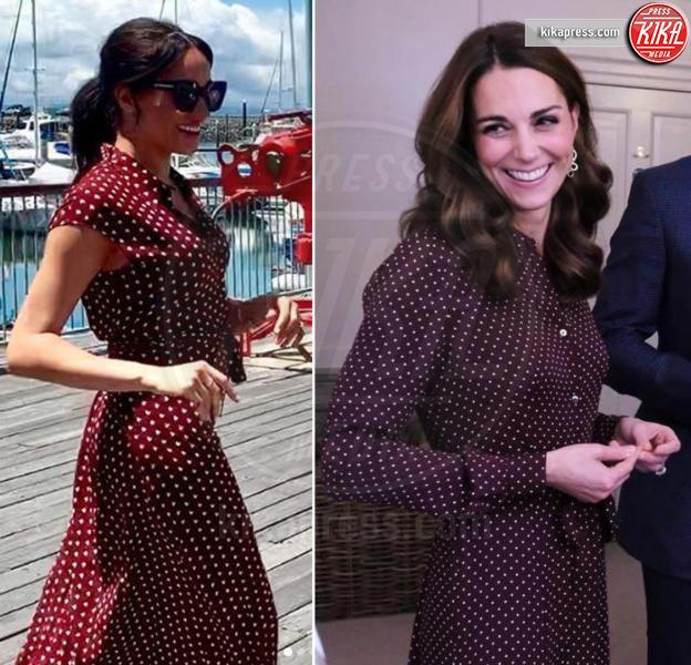Meghan Markle, Kate Middleton - Londra - 23-10-2018 - Meghan e Kate, le principesse dai pois... low cost!