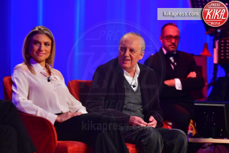 Sara Farnetti, Dario Argento - Roma - 29-10-2018 - Maurizio Costanzo Show, che scintille Al Bano e Romina!