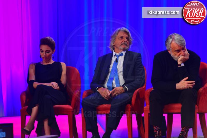 Flaminia Bolzan, Paolo Crepet, Massimo Ferrero - Roma - 29-10-2018 - Maurizio Costanzo Show, che scintille Al Bano e Romina!