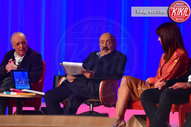 Maurizio Costanzo, Dario Argento, Asia Argento - Roma - 29-10-2018 - Maurizio Costanzo Show, che scintille Al Bano e Romina!