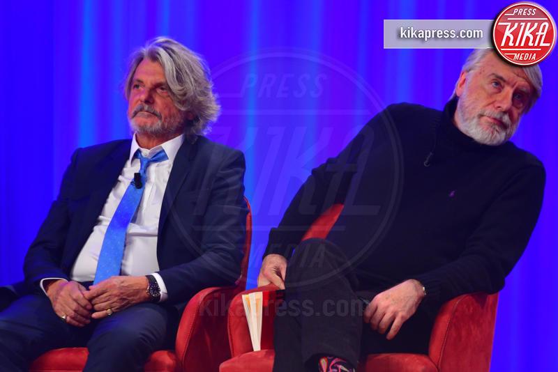 Paolo Crepet, Massimo Ferrero - Roma - 29-10-2018 - Maurizio Costanzo Show, che scintille Al Bano e Romina!