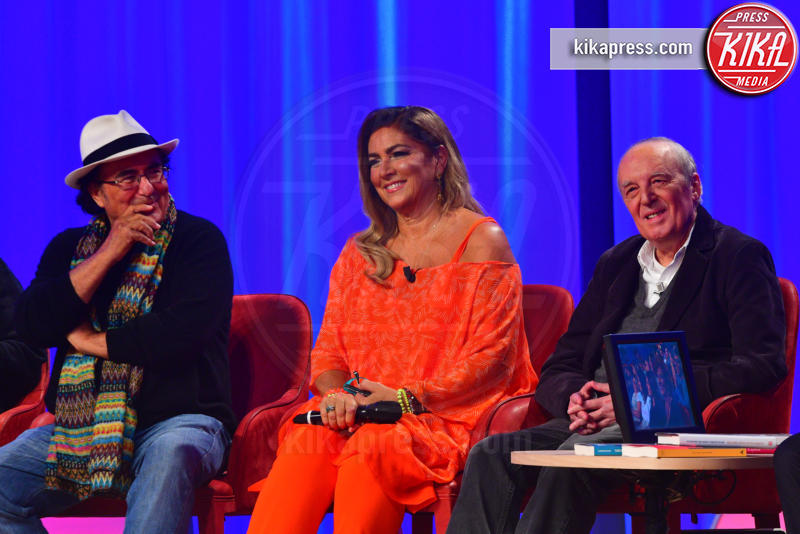 Al Bano, Dario Argento, Romina Power - Roma - 29-10-2018 - Maurizio Costanzo Show, che scintille Al Bano e Romina!