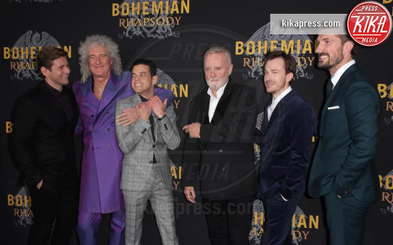 Cast - NYC - 31-10-2018 - Roger Taylor e Bryan May alla premiere del biopic sui Queen