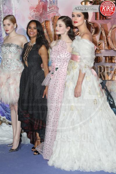 Ellie Bamber, Misty Copeland, MacKenzie Foy, Keira Knightley - Londra - 01-11-2018 - Lo Schiaccianoci debutta a Londra: il red carpet
