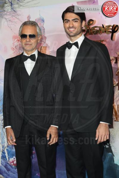 Matteo Bocelli, Andrea Bocelli - Londra - 01-11-2018 - Lo Schiaccianoci debutta a Londra: il red carpet