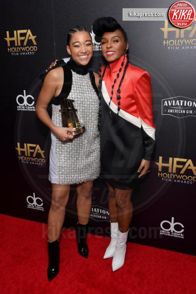 Amandla Stenberg, Janelle Monae - Beverly Hills - 04-11-2018 - Hollywood Film Awards, premio alla carriera per Nicole Kidman