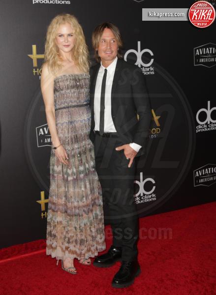 Keith Urban, Nicole Kidman - Beverly Hills - 04-11-2018 - Hollywood Film Awards, premio alla carriera per Nicole Kidman