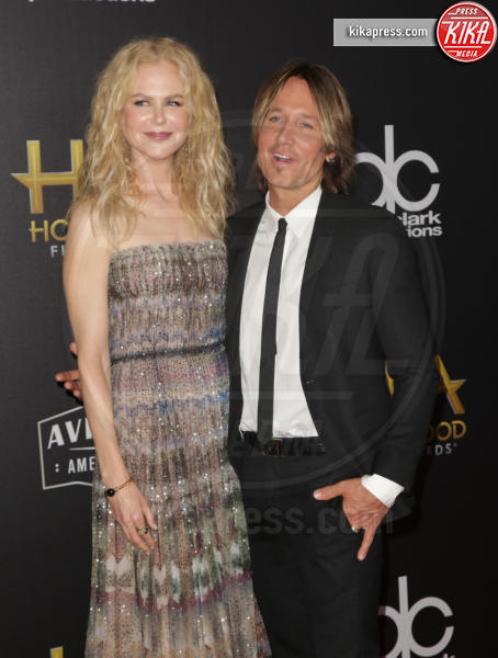 Keith Urban, Nicole Kidman - Los Angeles - 04-11-2018 - Hollywood Film Awards, premio alla carriera per Nicole Kidman