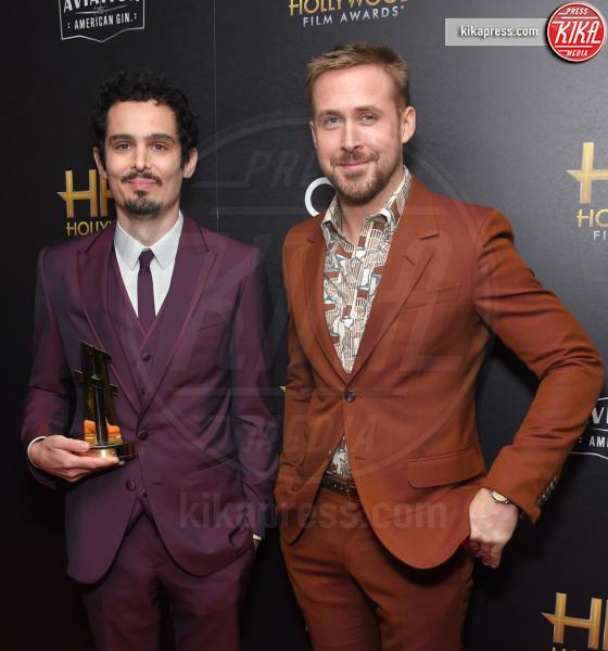 Damien Chazelle, Ryan Gosling - Beverly Hills - 04-11-2018 - Hollywood Film Awards, premio alla carriera per Nicole Kidman