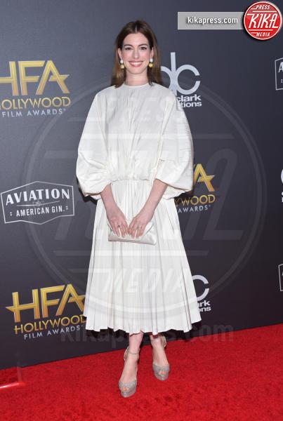 Anne Hathaway - Beverly Hills - 04-11-2018 - Hollywood Film Awards, premio alla carriera per Nicole Kidman