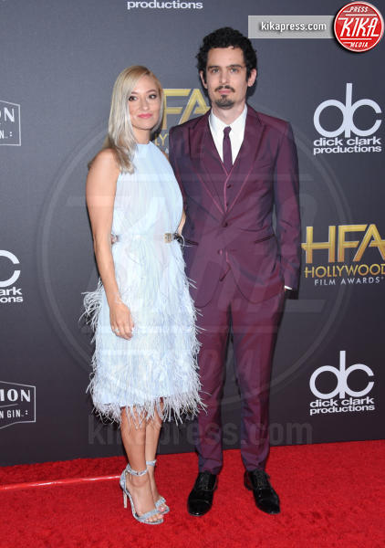 Olivia Hamilton, Damien Chazelle - Beverly Hills - 04-11-2018 - Hollywood Film Awards, premio alla carriera per Nicole Kidman