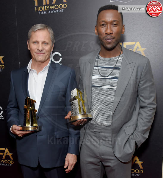 Mahershala Ali, Viggo Mortensen - Beverly Hills - 04-11-2018 - Hollywood Film Awards, premio alla carriera per Nicole Kidman