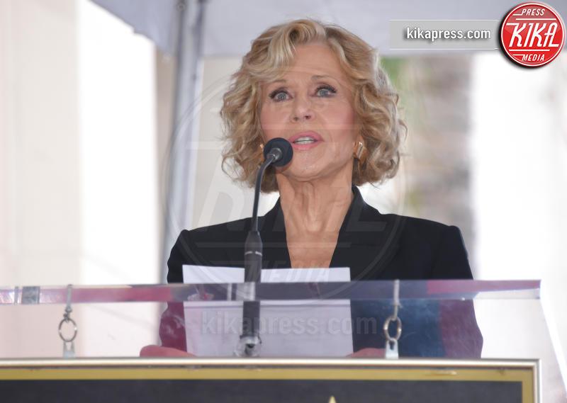 Jane Fonda - Hollywood - 06-11-2018 - Michael Douglas, stella al bacio sulla Walk of Fame!