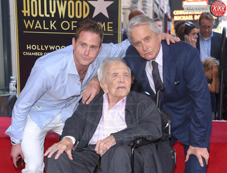 Cameron Douglas, Kirk Douglas, Michael Douglas - Hollywood - 06-11-2018 - Suoceri famosi delle star... e dove trovarli!