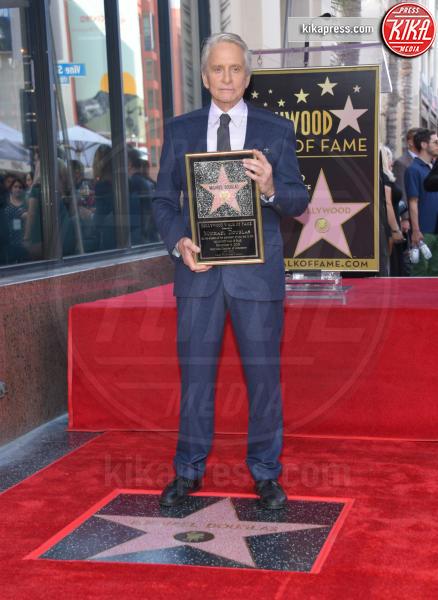 Michael Douglas - Hollywood - 06-11-2018 - Michael Douglas, stella al bacio sulla Walk of Fame!
