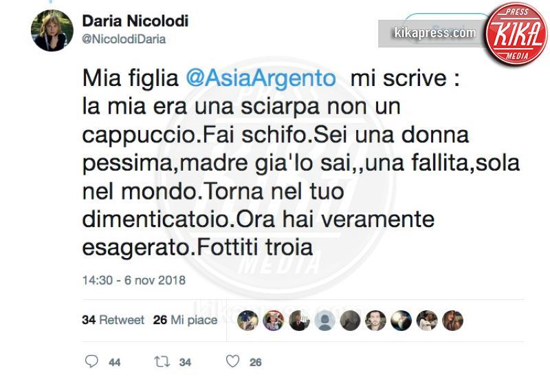 Daria Nicolodi - 07-11-2018 -