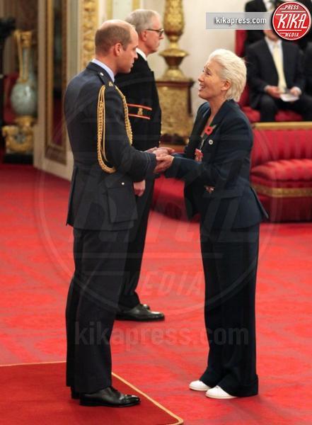 Principe William, Emma Thompson - Londra - 07-11-2018 - Emma Thompson a Buckingham Palace, il suo look strappa risate
