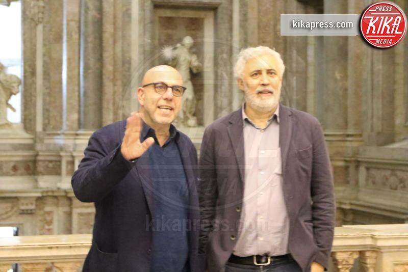 Francesco Piccolo, Paolo Virzì - Caserta - 07-11-2018 - Alla Reggia di Caserta le Notti Magiche di Paolo Virzì