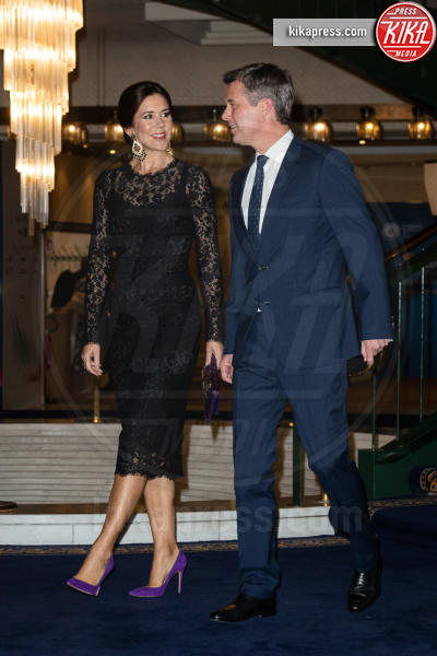 Principe Frederick, Principessa Mary di Danimarca - Roma - 07-11-2018 - Mary di Danimarca, l'elegante riciclo firmato Dolce & Gabbana