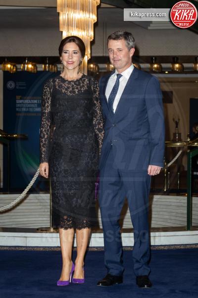 Principe Frederick, Principessa Mary di Danimarca - Roma - 07-11-2018 - Federico e Mary di Danimarca salutano Roma con la Grand Dinner