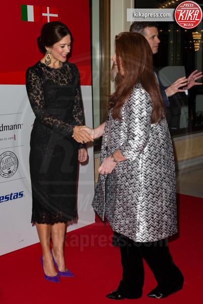 Principessa Mary di Danimarca - Roma - 07-11-2018 - Mary di Danimarca, l'elegante riciclo firmato Dolce & Gabbana