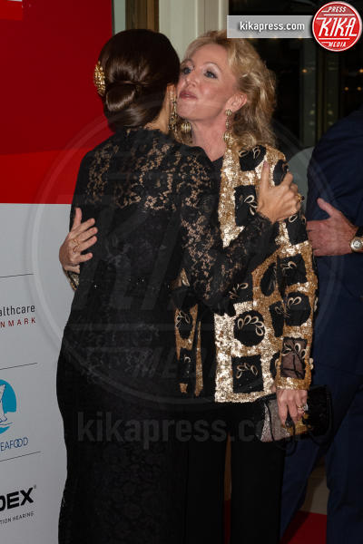 Principessa Mary di Danimarca, Camilla Crociani - Roma - 07-11-2018 - Federico e Mary di Danimarca salutano Roma con la Grand Dinner