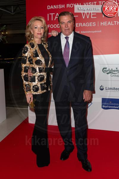 Carlo di Borbone, Camilla Crociani - Roma - 07-11-2018 - Federico e Mary di Danimarca salutano Roma con la Grand Dinner