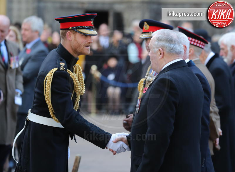 Principe Harry - Londra - 08-11-2018 - Principe Harry: una croce in ricordo dei caduti di guerra