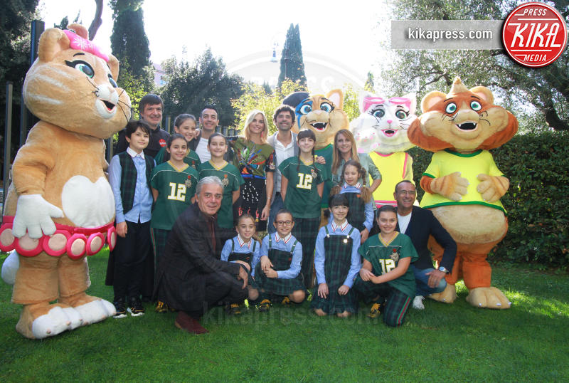 Gigi e Ross, Francesca Fialdini, Carlo Conti - Roma - 08-11-2018 - Zecchino d'Oro: tutto pronto per l'edizione Francesca Fialdini