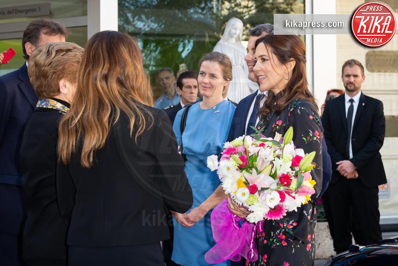 Mary di Danimarca, Principe Federico di Danimarca - Roma - 08-11-2018 - Federico e Mary di Danimarca in visita all'ospedale Bambino Gesù