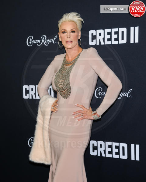 Brigitte Nielsen - New York - 15-11-2018 - Rocky e Ivan Drago insieme alla premiere di Creed II