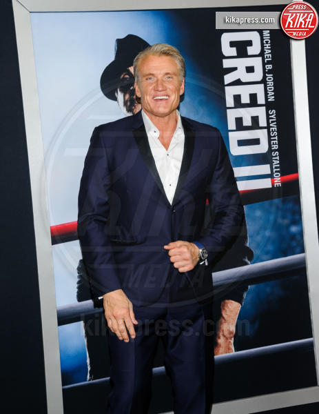 Dolph Lundgren - New York - 15-11-2018 - Rocky e Ivan Drago insieme alla premiere di Creed II