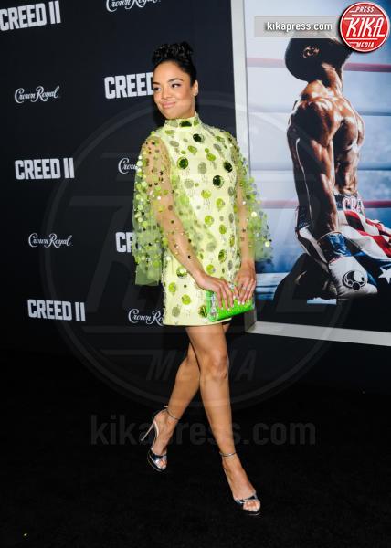 Tessa Thompson - New York - 15-11-2018 - Rocky e Ivan Drago insieme alla premiere di Creed II