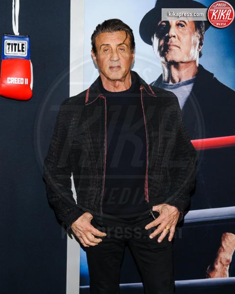Sylvester Stallone - New York - 15-11-2018 - Rocky e Ivan Drago insieme alla premiere di Creed II
