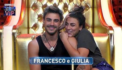 Giulia Salemi, Francesco Monte - 15-11-2018 - GF Vip shock: Fariba Therani svela tutti i segreti degli autori