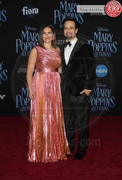 Vanessa Nadal, Lin-Manuel Miranda - Hollywood - 30-11-2018 - Emily Blunt, première in bianco per Mary Poppins
