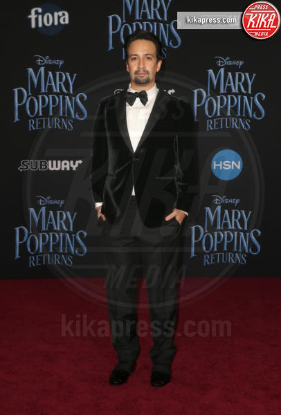 Lin-Manuel Miranda - Hollywood - 30-11-2018 - Emily Blunt, première in bianco per Mary Poppins