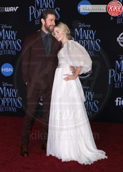 Emily Blunt - Hollywood - 29-11-2018 - Emily Blunt, première in bianco per Mary Poppins