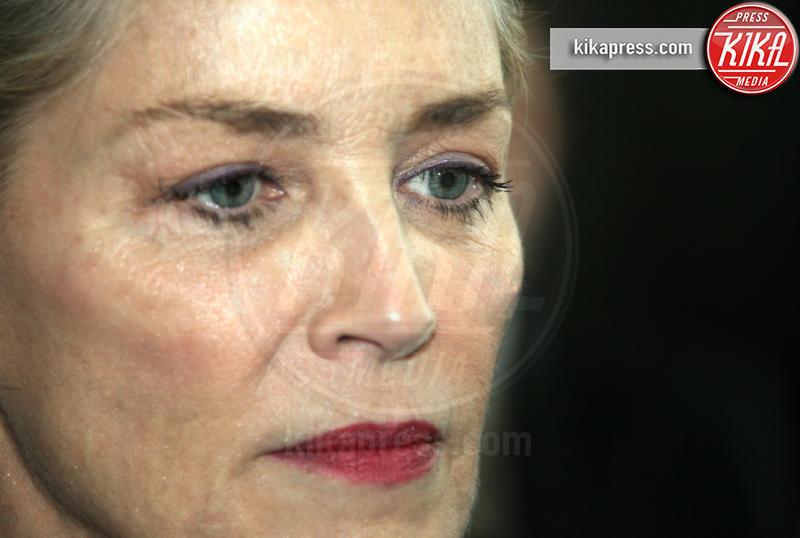 Enzo Cursio, Sharon Stone - Roma - 02-12-2018 - Sharon Stone in lacrime per la Croce Rossa (col nuovo fidanzato)