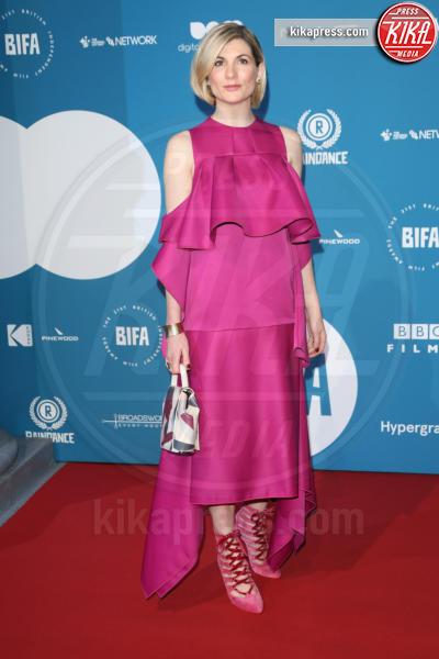 Jodie Whittaker - Londra - 02-12-2018 - Emma Stone: Red Passion sul tappeto rosso dei BIFA 2018
