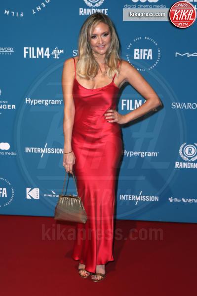 Claire Jones - Londra - 02-12-2018 - Emma Stone: Red Passion sul tappeto rosso dei BIFA 2018