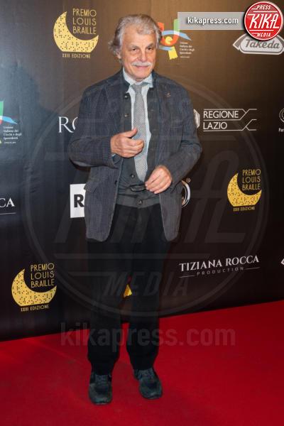 Michele Placido - Roma - 04-12-2018 - Premio Braille, Elisa Isoardi, il dopo-Salvini è raggiante