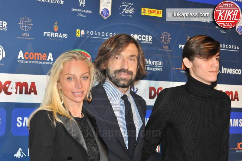 Valentina Baldini, Andrea Pirlo - Milano - 03-12-2018 - Gran Gala AIC, l'Oscar della bellezza va sempre a Diletta Leotta