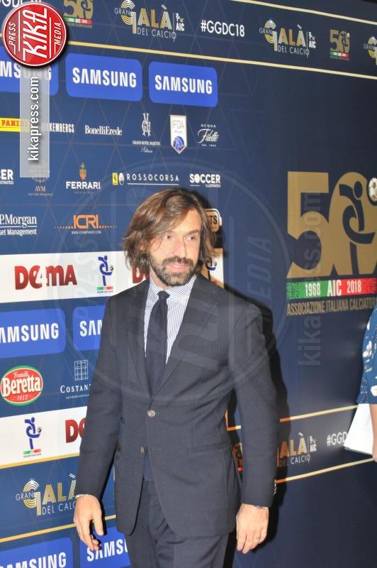 Andrea Pirlo - Milano - 03-12-2018 - Gran Gala AIC, l'Oscar della bellezza va sempre a Diletta Leotta