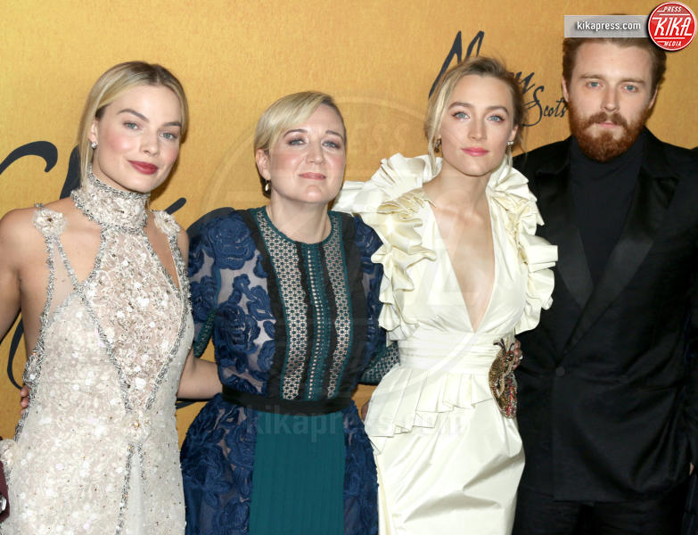Jack Lowden, Josie Rourke, Margot Robbie, Saoirse Ronan - New York - 04-12-2018 - Maria Regina di Scozia: il red carpet di New York